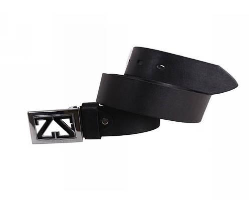 Мужской кожаный ремень черный NAVI 49111, фото 2