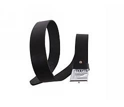 Мужской кожаный ремень черный NAVI 49112, фото 3
