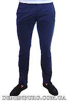 Мужские брюки FRANCO BENUSSI 16-172 тёмно-синие