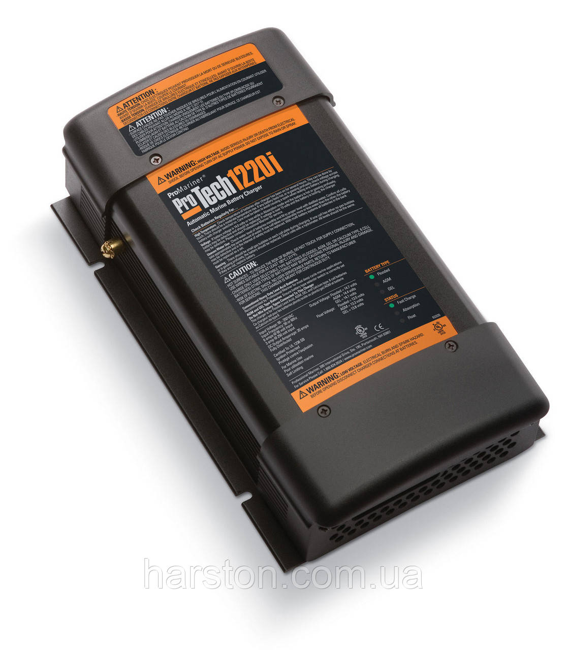 Морское зарядное устройство 12В, 20А на 3 группы аккумуляторов ProMariner 1220i (аналог Mastervolt)