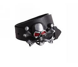 Мужской кожаный ремень черный NAVI 49142, фото 3