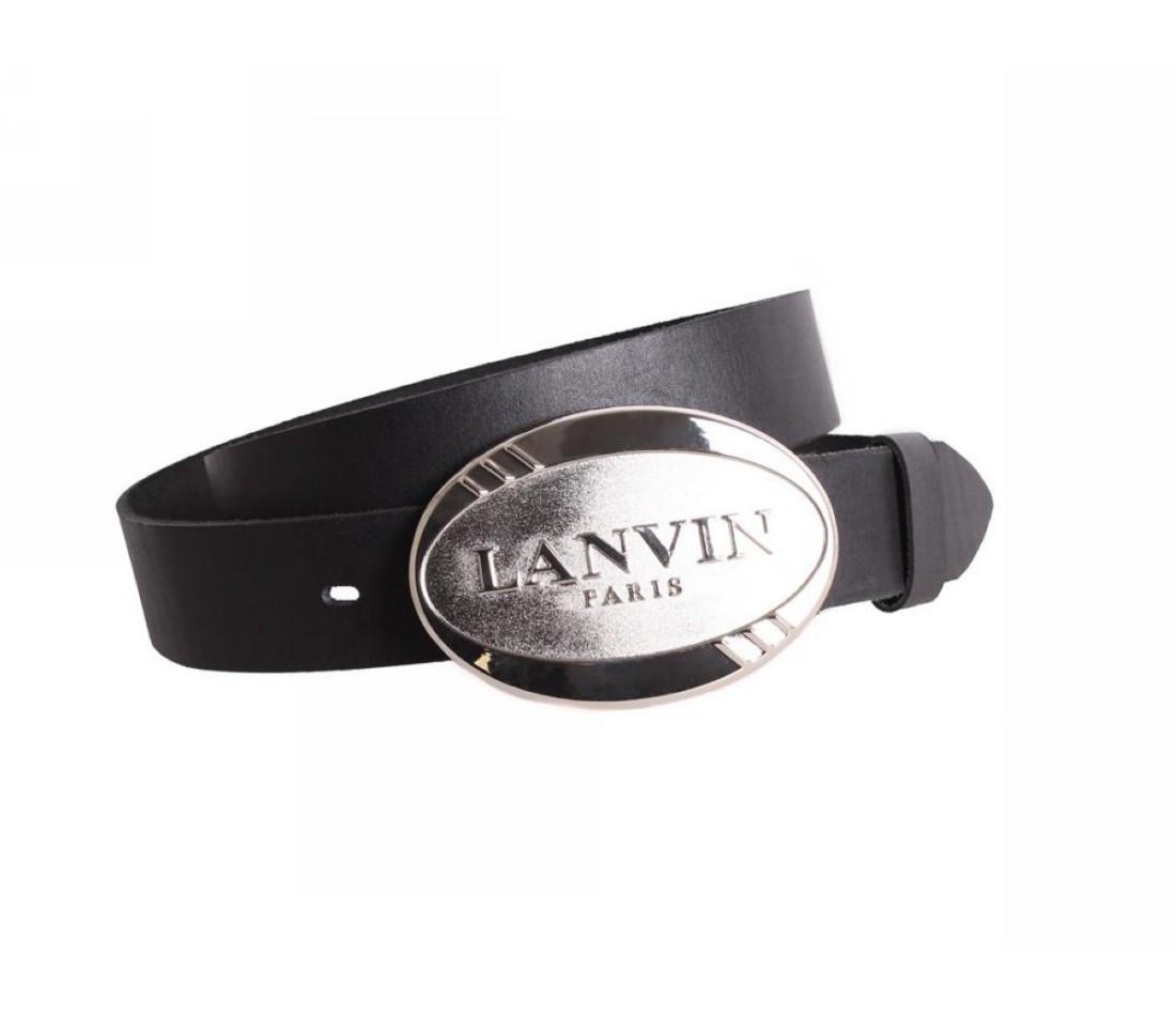 Мужской кожаный ремень черный NAVI 49155