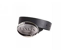 Мужской кожаный ремень черный NAVI 49155, фото 2