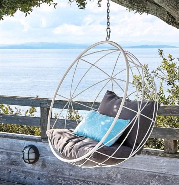Купить кресло кокон из металла недорого дизайнерский  - Купить кресло мешок грушу | Мяч | Пуфик | и другую бескаркасную мебель в Украине  в Киеве