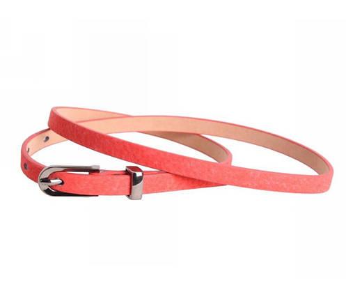 Женский ремень замша розовый NAVI 49177, фото 2