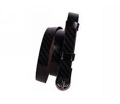 Женский кожаный ремень черный NAVI 6442, фото 2