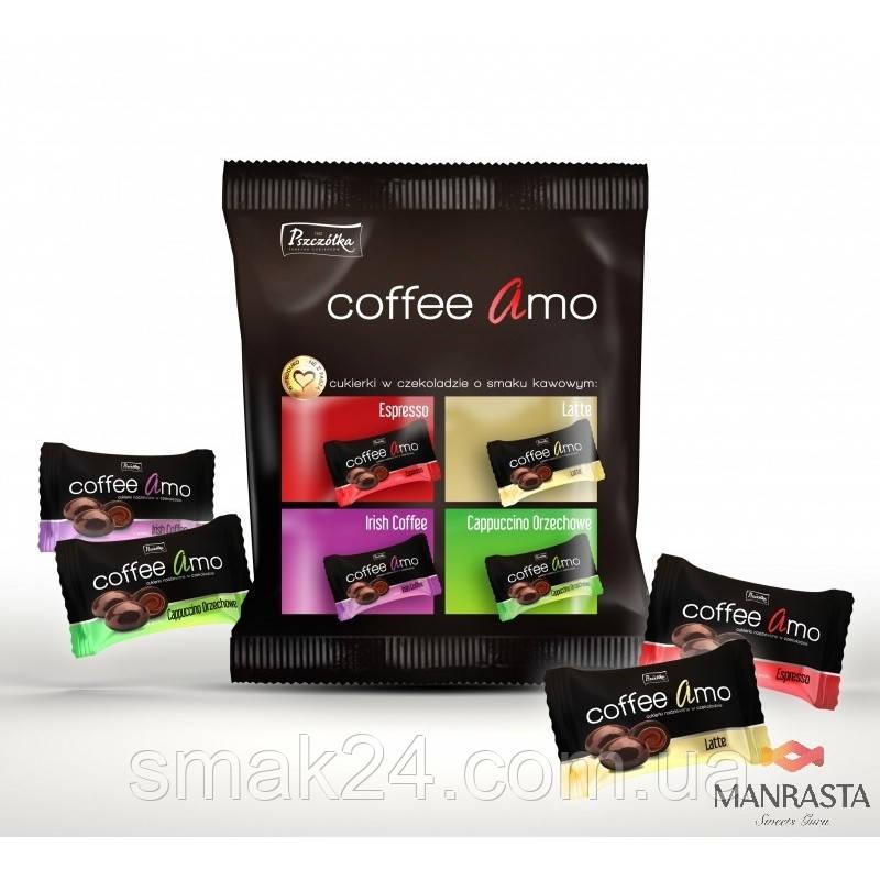 Конфеты-карамель в шоколаде Coffee Amo  Польша 100г