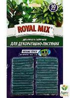"""Удобрение в палочках """"Для декоративно-лиственных растений"""" ТМ """"Royal Mix"""" 30шт"""