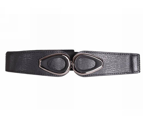 Женский ремень ткань черный NAVI 222617, фото 2