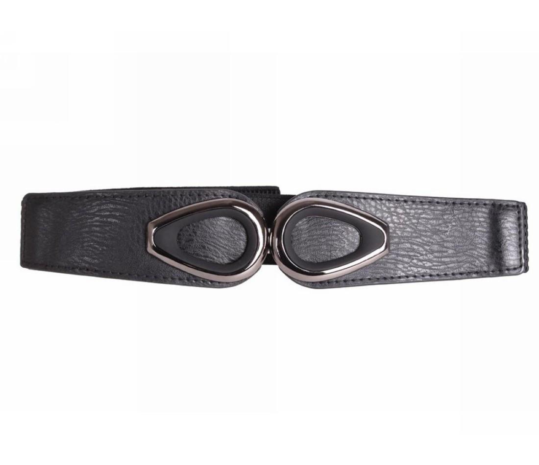 Женский ремень ткань черный NAVI 222617