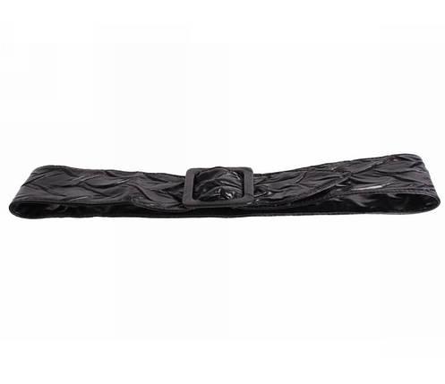Женский ремень ткань черный NAVI 222625, фото 2