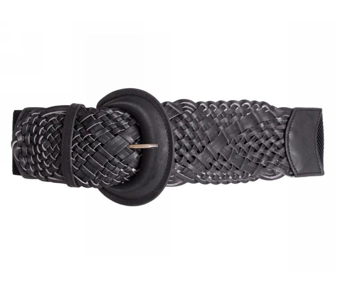 Женский пояс ткань черный NAVI 222631