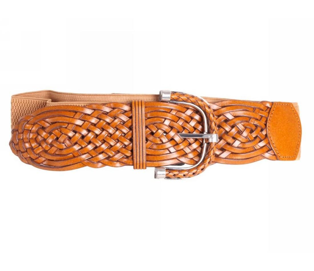 Женский пояс ткань оранжевый NAVI 222632