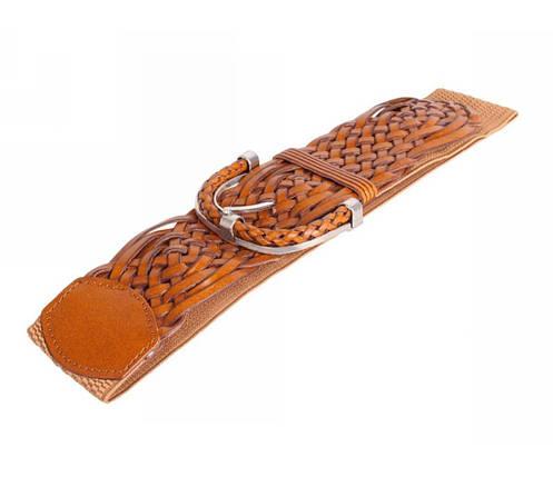 Женский пояс ткань оранжевый NAVI 222632, фото 2