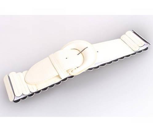 Женский пояс ткань белый NAVI 222639, фото 2