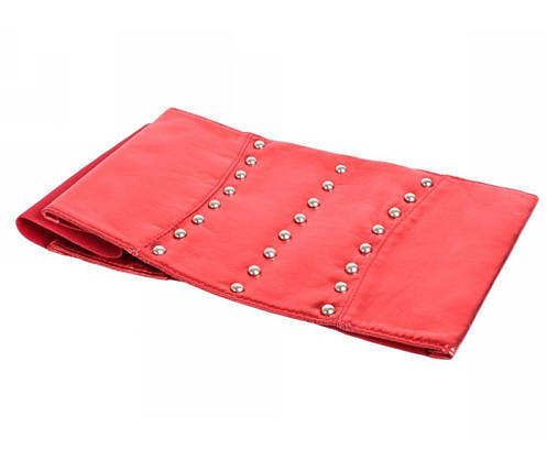 Жіночий пояс тканина Червоний NAVI 222642, фото 2