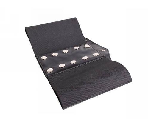 Жіночий пояс тканина чорний NAVI 222644, фото 2