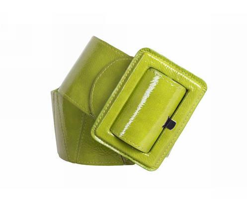 Женский пояс ткань салатовый NAVI 262207, фото 2