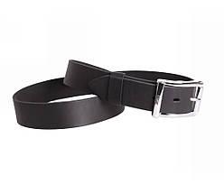 Мужской кожаный ремень черный NAVI 49-1993, фото 2