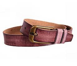 Мужской кожаный ремень коричневый NAVI 5283, фото 3