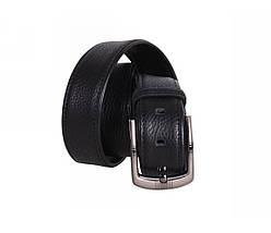 Мужской кожаный ремень черный NAVI 240736, фото 3