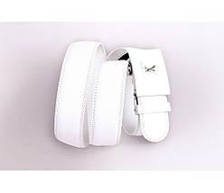 Женский кожаный ремень белый NAVI 230720, фото 3