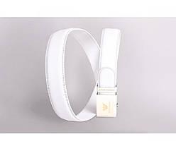 Женский кожаный ремень белый NAVI 230725, фото 2