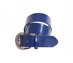 Женский кожаный ремень синий NAVI 230735, фото 3