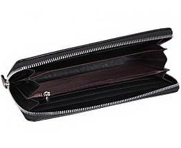 Мужской кошелек искуственная кожа черный NAVI 5740, фото 3