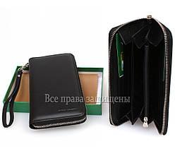 Мужской кожаный кошелек черный Marco Сoverna MC-802-1m, фото 2