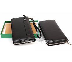 Мужской кожаный кошелек черный Marco Сoverna MC-802-1m, фото 3