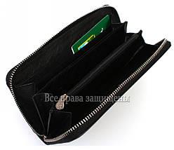 Женский кожаный кошелек черный Marco Сoverna MC-802-1w, фото 2