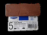 Паста полировальная для латуни, меди, алюминия, цветных металлов,твердая, коричневого цвета, Osborn 2103007012