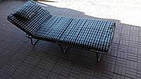 Кровать раскладушка с подушкой    .х