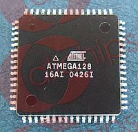AVR-микроконтроллер Atmel ATmega128-16AI TQFP64