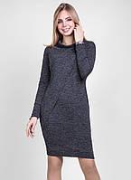 Платье из мягкой и эластичной трикотажной ткани
