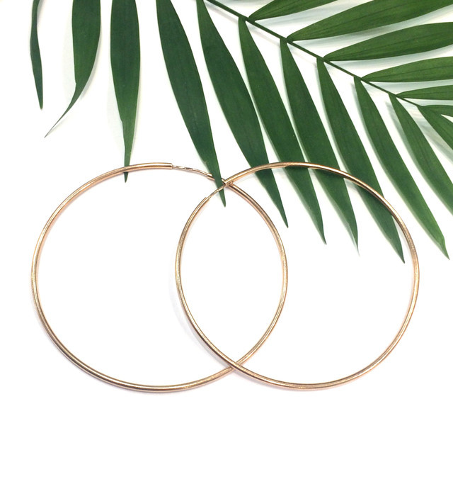 Серьги кольца серебро с позолотой фото
