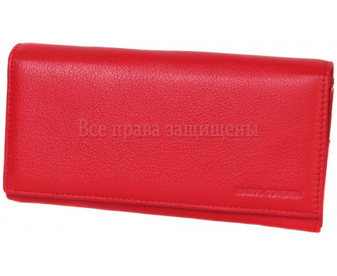 Женский кожаный кошелек красный Marco Сoverna MC-2028-2