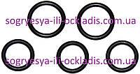Комплект прокладокбитермического теплообменника-5 шт Baxi Mainfour, Western Quasar D (турбо), код сайта 0757