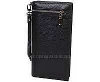 Мужской кожаный кошелек черный Marco Сoverna MC-9006-A-BLACK
