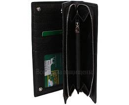 Мужской кожаный кошелек черный Marco Сoverna MC-9006-A-BLACK, фото 3