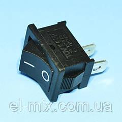 Выключатель MRS-101 черный 1-группа ON-OFF  PRK0001А