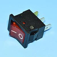 Выключатель  12В  МК-1011 красный 1-группа ON-OFF  PRK0020В