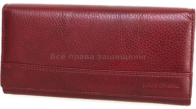 fe5d1a71b736 Женский кожаный кошелек бордовый Marco Сoverna MC-N-3-604 RED WINE ...