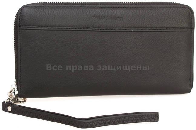 697209701bc5 Женский кожаный кошелек черный Marco Сoverna MC-N3-801 BLACK, фото 2