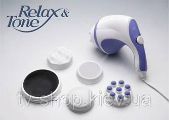 Вибромассажер с насадкой для чистки пяток Релакс-н-Тон (Relax & Tone)