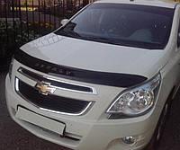 Дефлектор капота(мухобойка) Chevrolet Cobalt с 2011 г.в. (Шевроле Кобальт) Vip Tuning