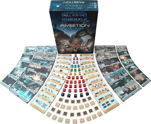 Настольная игра Кубарем по галактике: Амбиции (Roll for the Galaxy: Ambition) рус, фото 2