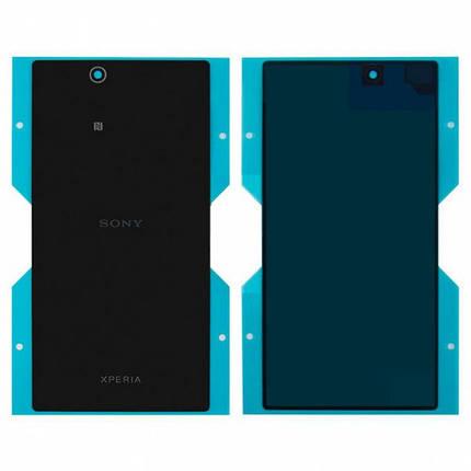 Задняя крышка для Sony C6802 Xperia Z Ultra XL39h/C6806/C6833, черная Оригинал, фото 2