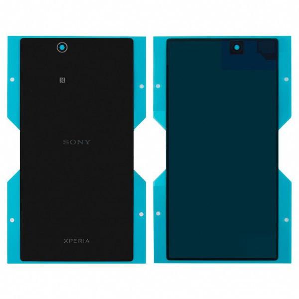 Задняя крышка для Sony C6802 Xperia Z Ultra XL39h/C6806/C6833, черная Оригинал